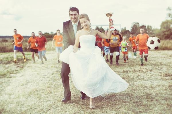 Тематическая свадебная фоторафия